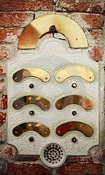 Doorbell Royalty Free Stock Photo - Image: 20320765