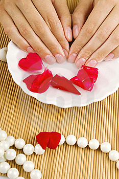 Relaxation Of Hands Royalty Free Stock Image - Image: 20324206