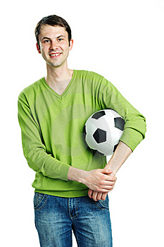 Fond Of Football Stock Image - Image: 20330351
