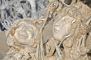 Scary Sculpture With Hope Stock Photos - Image: 20335413