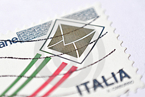 Stamp Macro Stock Photography - Image: 20344192