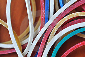 Rubber Bands Royalty Free Stock Photos - Image: 20344228