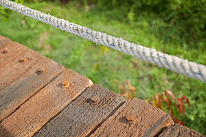 Rope And Nuts Royalty Free Stock Photography - Image: 20344307