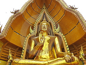 Massive Buddha Statue Stock Photo - Image: 20344660