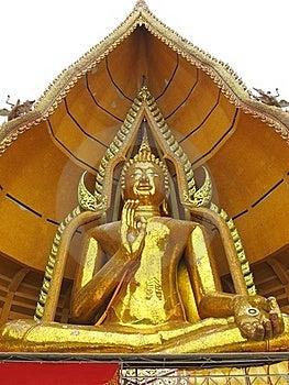 Massive Buddha Statue Stock Image - Image: 20344691