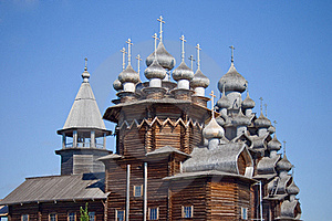 Wooden Churches On Island Kizhi Stock Images - Image: 20344914