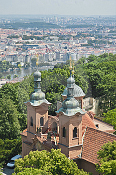 Saint Lawrence At Prague Stock Images - Image: 20348174
