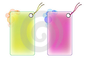 Labels Color Design Stock Photography - Image: 20351862