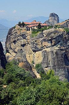 Monastery Meteora Royalty Free Stock Image - Image: 20353786