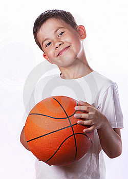 Boy And Ball Stock Images - Image: 20354234