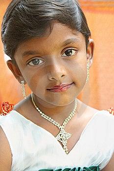 Indian  Cute Little Girl Stock Photos - Image: 20356083