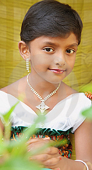 Indian Cute Girl Royalty Free Stock Images - Image: 20356109