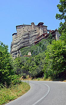 Meteora Top Monastery Royalty Free Stock Photography - Image: 20356187
