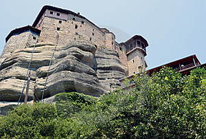 Meteora High Stock Photo - Image: 20356380