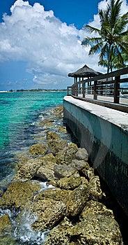 установка острова Стоковое Изображение - изображение: 20356631