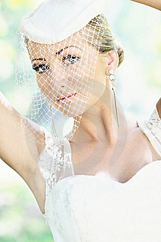 Beautiful Bride Outdoor Stock Images - Image: 20356664