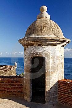 San Juan - Fort San Cristobal Sentry Turret Stock Photos - Image: 20357053