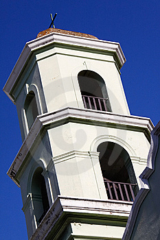Old San Juan - Historic Colonial Church Bell Tower Stock Photo - Image: 20357070