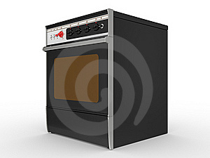 Black Gas Cooker Stock Photography - Image: 20357812