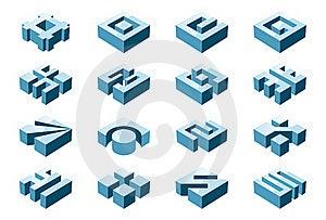 3d Design Elements Stock Photo - Image: 20365300
