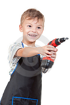 Boy With Tools Stock Photos - Image: 20367163