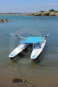 Twin-hulled Rowboat Stock Photos - Image: 20367523