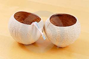 Coconut Cups Stock Photos - Image: 20368773