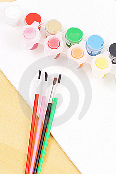 Using Water Colors Stock Photography - Image: 20368782
