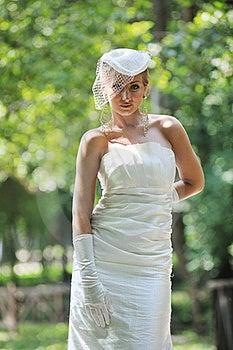 Beautiful Bride Outdoor Stock Photos - Image: 20368883