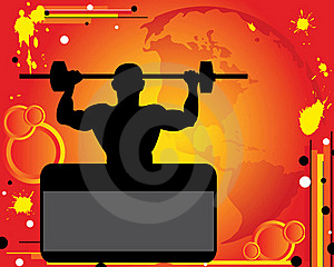 Weight-lifter Royalty Free Stock Image - Image: 20370106
