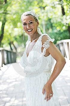Beautiful Bride Outdoor Stock Photos - Image: 20370503