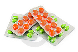 Packs Of Pills Stock Photo - Image: 20375040