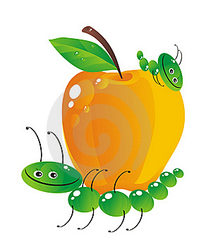 Big Yellow Apple Royalty Free Stock Photos - Image: 20375368