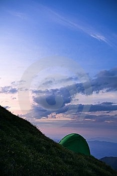Camping Tents Stock Images - Image: 20375604