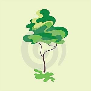 Stylized Tree Royalty Free Stock Photos - Image: 20376358