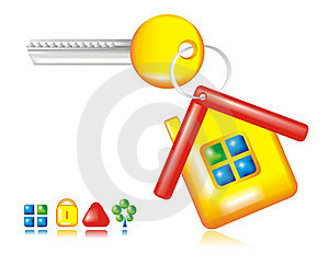 Key From The House Stock Photo - Image: 20378170