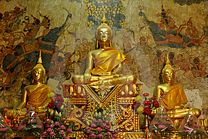 Statues Of Buddha In  Thailand Stock Photos - Image: 20378423
