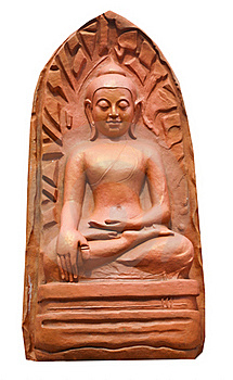 Clay Buddha Royalty Free Stock Photography - Image: 20379927