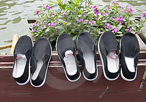Cloth Shoes Stock Image - Image: 20380481