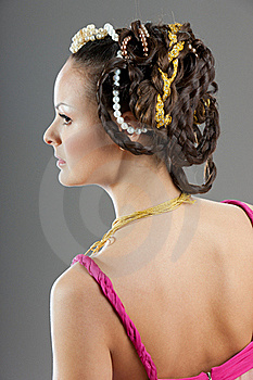 Venice Hair Style Stock Images - Image: 20381414