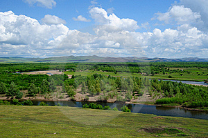 Wetland Landscape Royalty Free Stock Photography - Image: 20383567