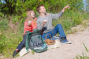 Portrait Of Love In Nature Royalty Free Stock Photos - Image: 20385388