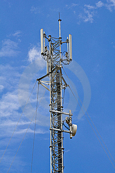 Mobile Telephone Antenna Stock Photography - Image: 20386042