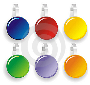Color Paper Wobbler Stock Images - Image: 20387684