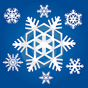 Original Snowflakes Stock Photo - Image: 20388290