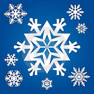 Original Snowflakes Royalty Free Stock Image - Image: 20388306