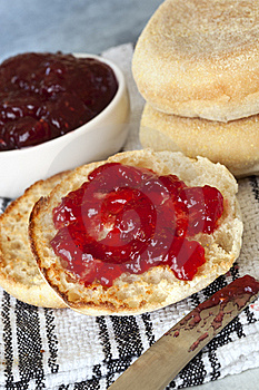 English Muffins Stock Images - Image: 20389634