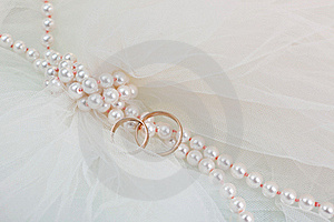Rings And A Pearl Stock Photo - Image: 20390230