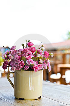 Artificial Flower In Vase Royalty Free Stock Photography - Image: 20391087