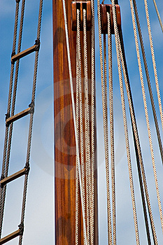 Wooden Mast Royalty Free Stock Photos - Image: 20392798